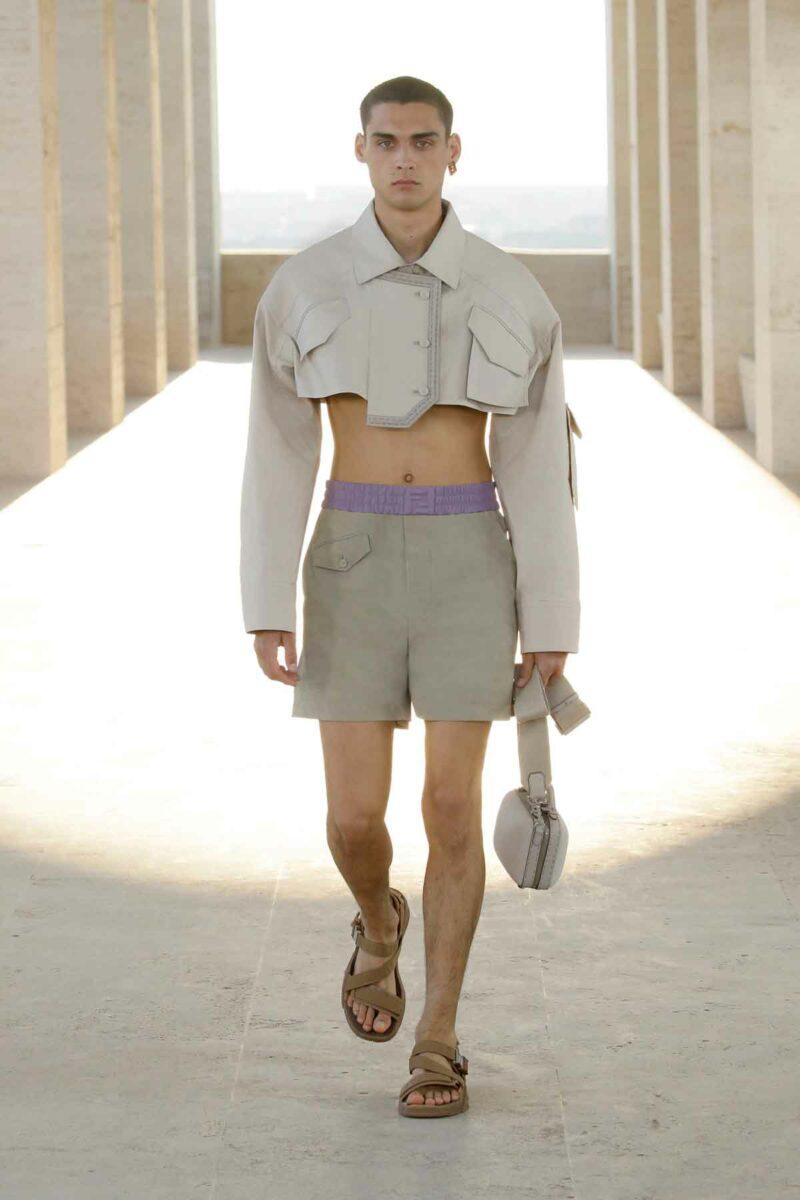 mode homme Fendi