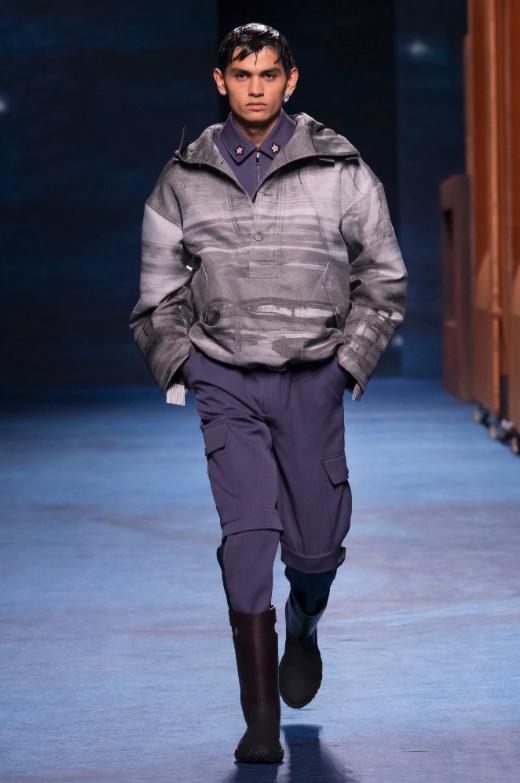 défilé Dior homme hiver 2021