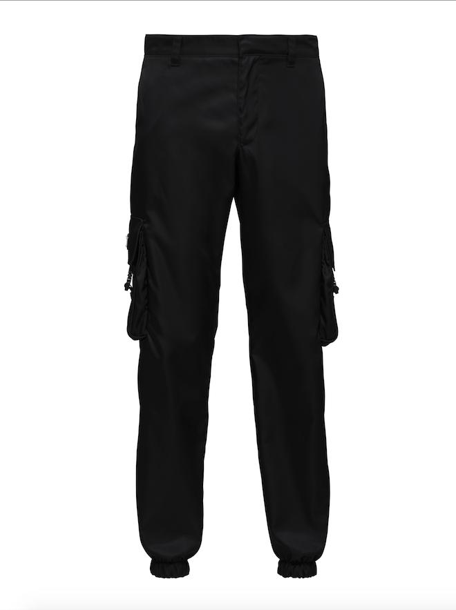 pantalon homme cargo noir