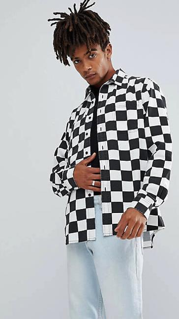 Asos Design veste à carreaux