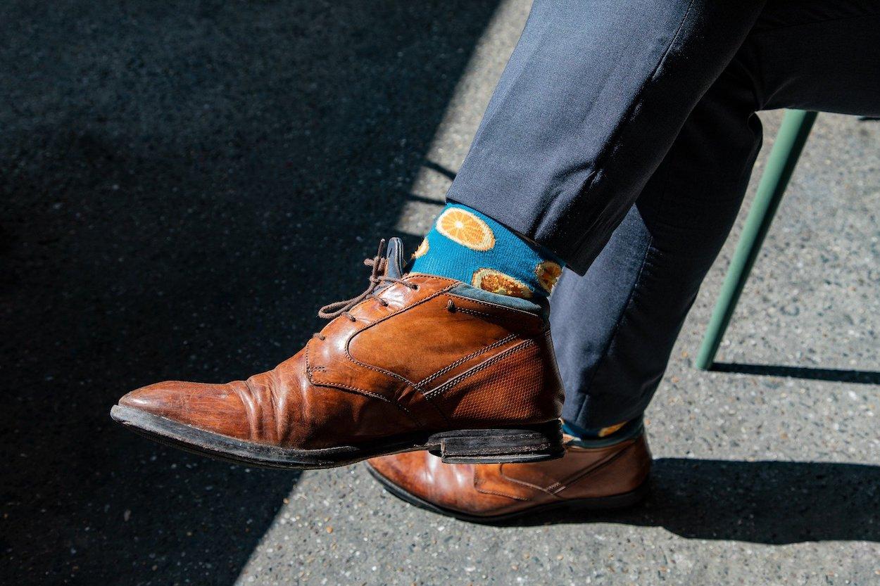 Les chaussettes redeviennent un accessoire de mode